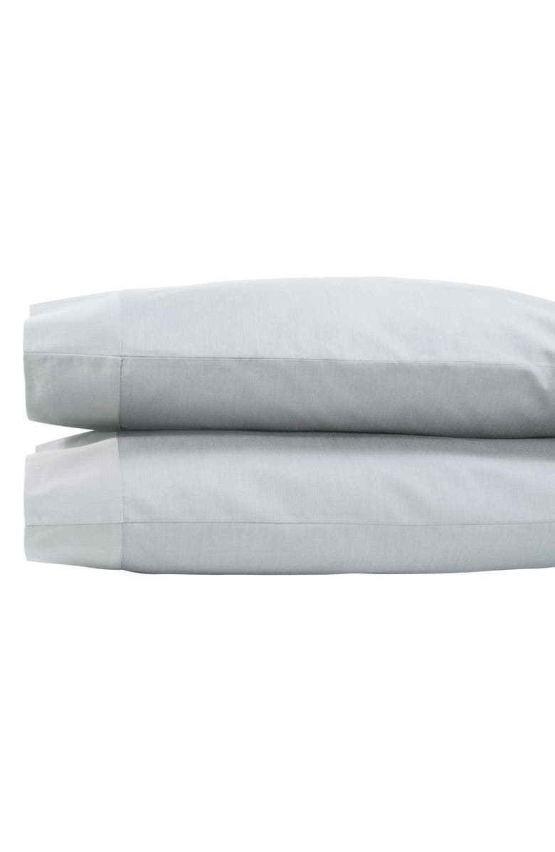 MICHAEL ARAM Striated Band 400 Thread Count Pillowcases, Main, color, 020