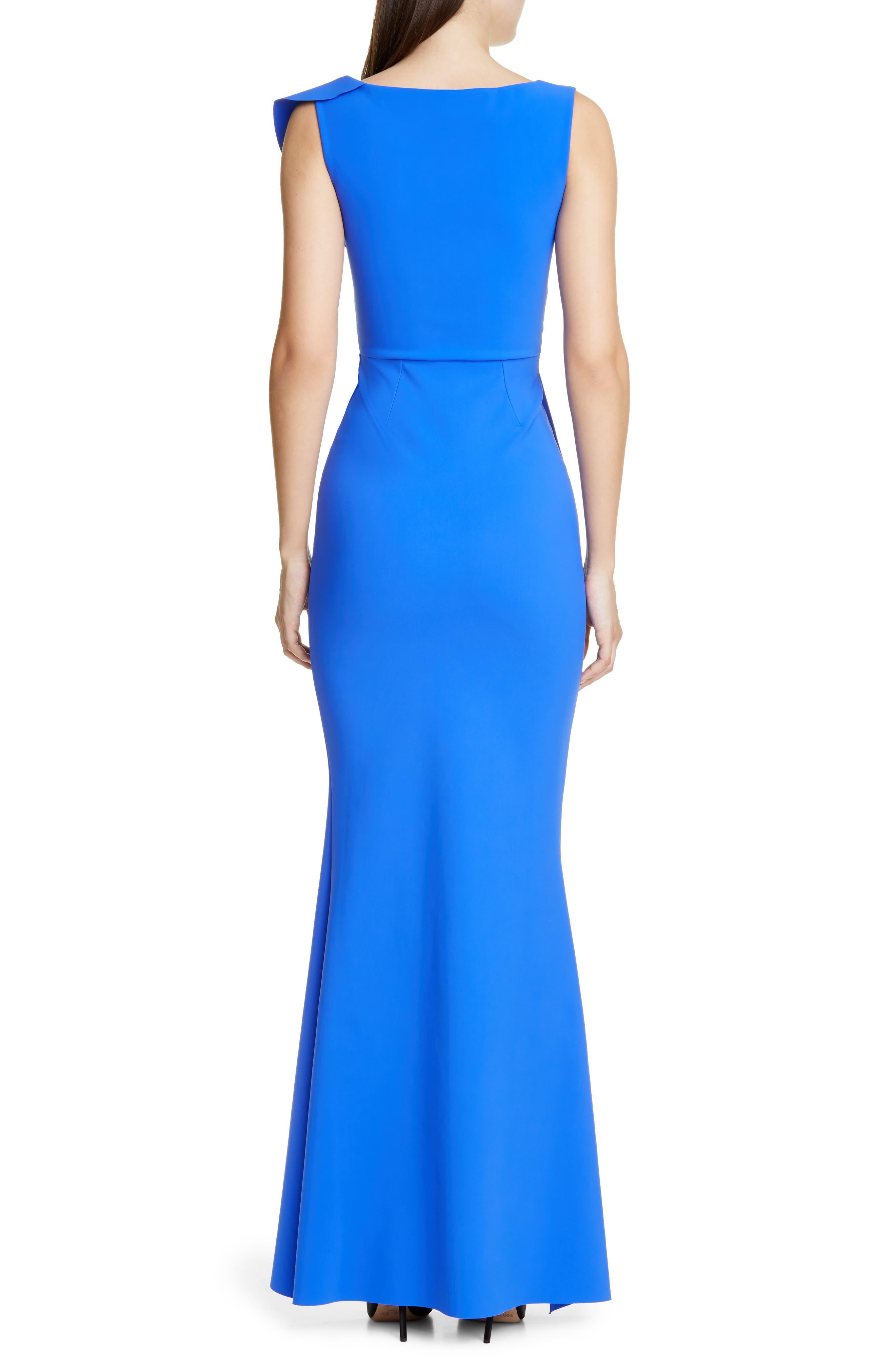 ,                             Janka Ruffle Evening Gown,                             Alternate thumbnail 2, color,                             BLUE