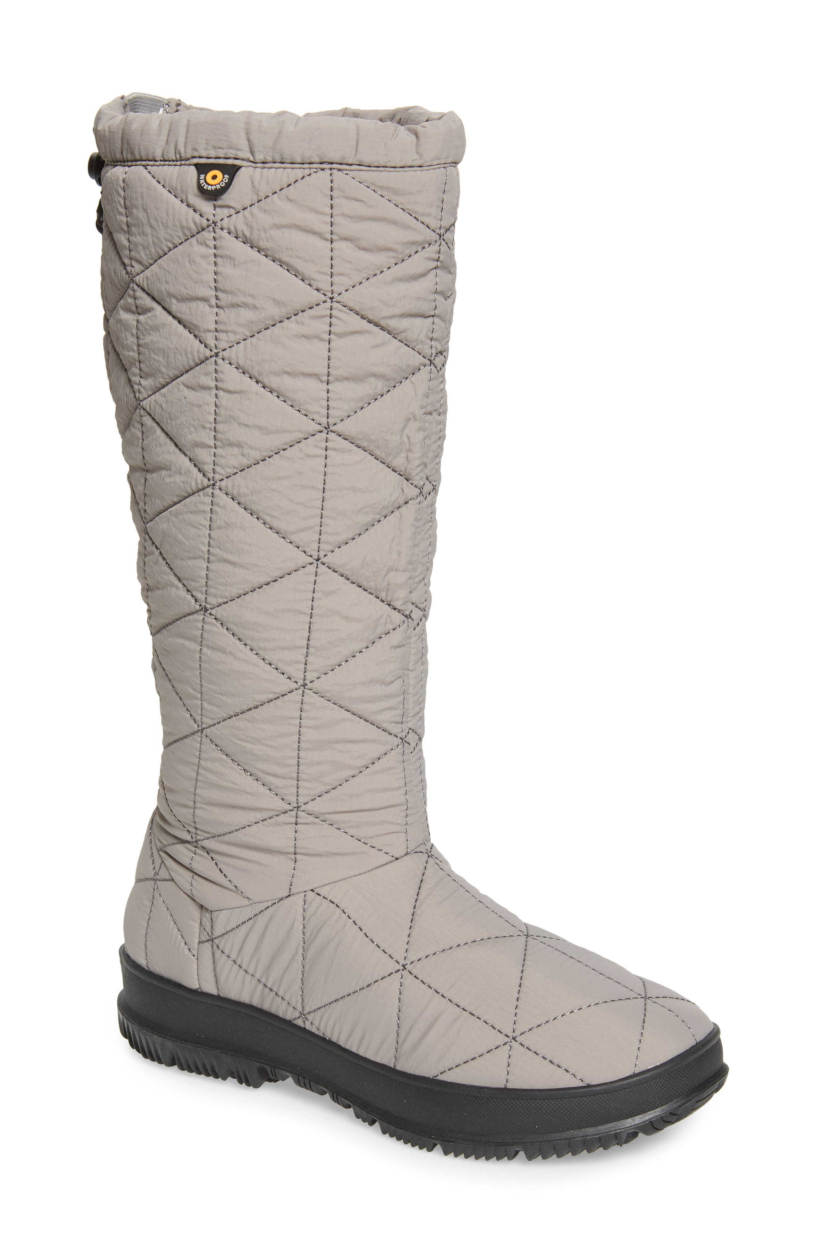 Snowday Tall Waterproof Quilted Snow Boot
