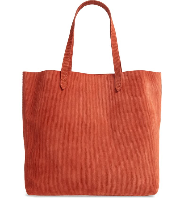 MADEWELL The Transport Tote, Main, color, RUSSET