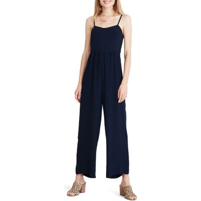 Madewell Wide Leg Camisole Jumpsuit, Blue