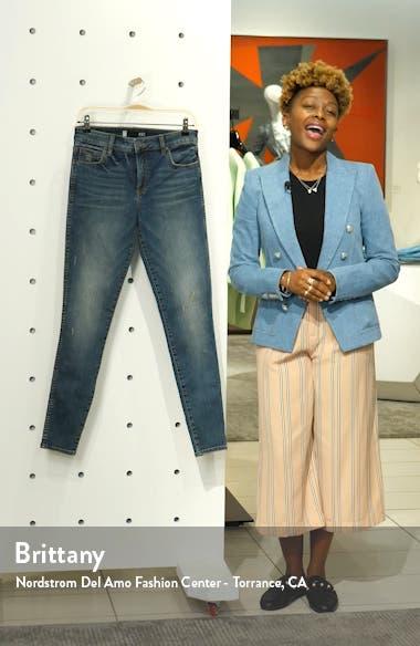 Mia Fab Ab Distressed High Waist Skinny Jeans, sales video thumbnail