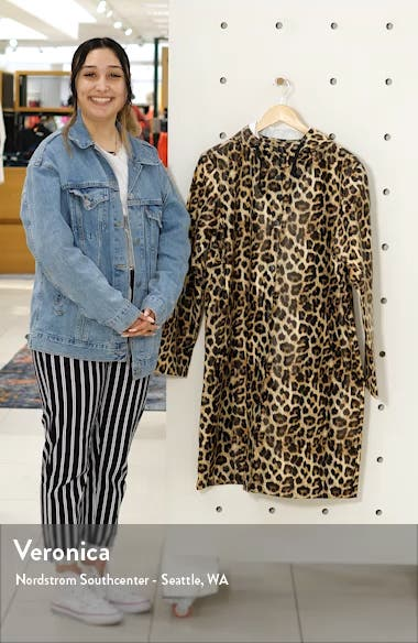 Leopard Print Raincoat, sales video thumbnail