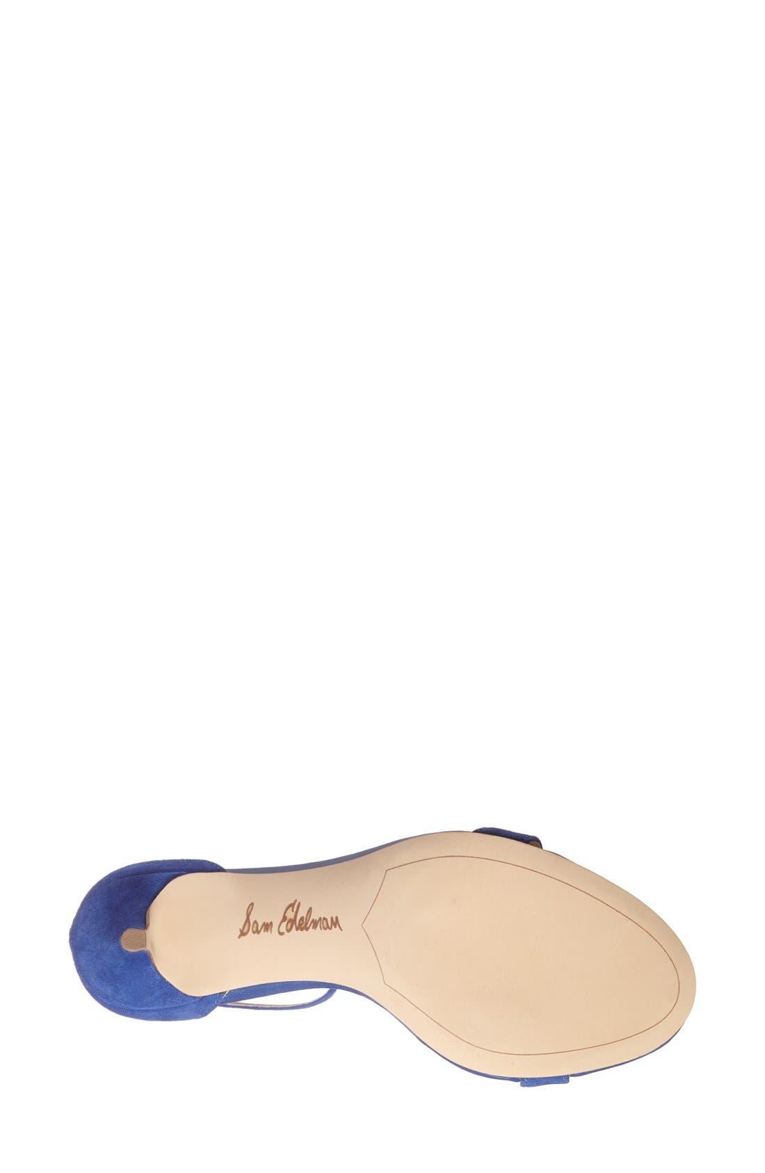 ,                             'Patti' Ankle Strap Sandal,                             Alternate thumbnail 197, color,                             402