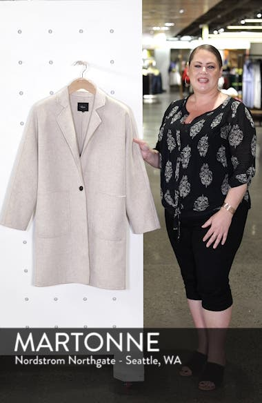 Everest Wool Blend Coat, sales video thumbnail