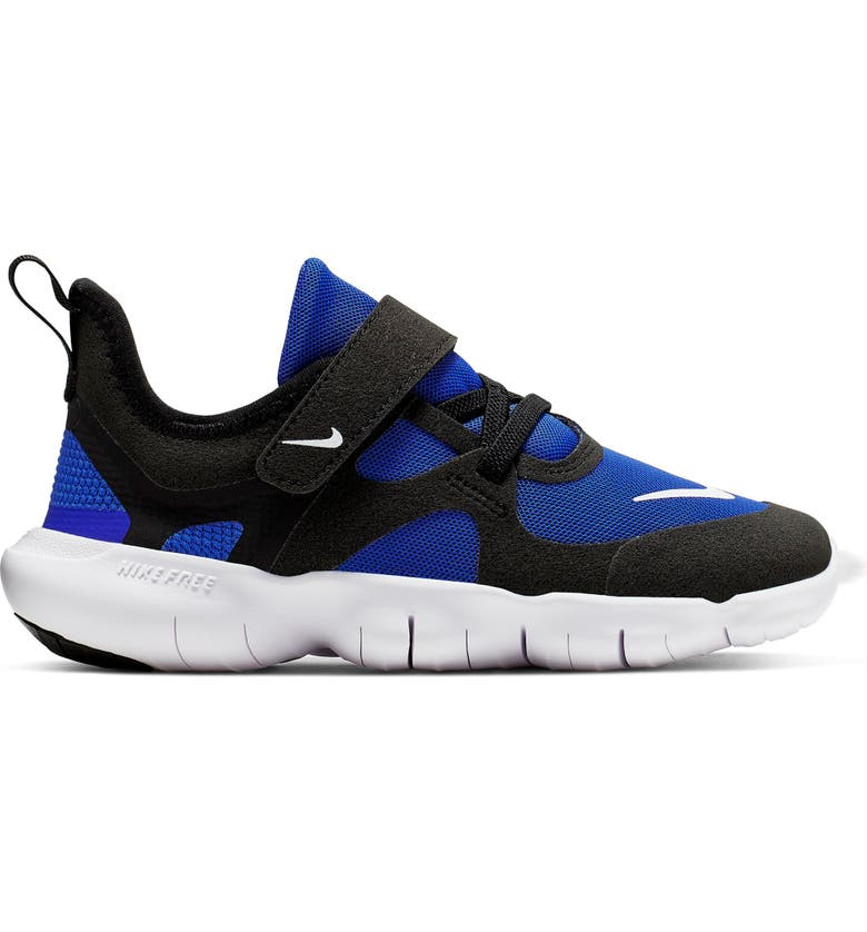 NIKE Free Run 5.0 Sneaker, Main, color, RACER BLUE/ BLACK-WHITE