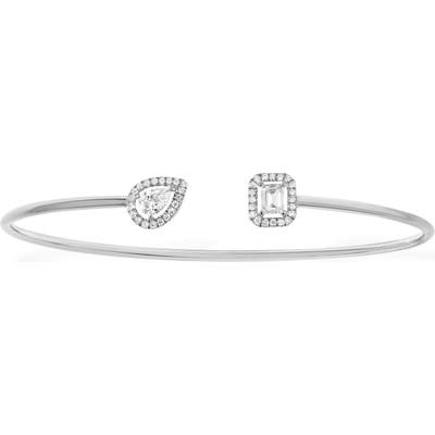 Messika My Twin Memoire Open Diamond Cuff Bracelet
