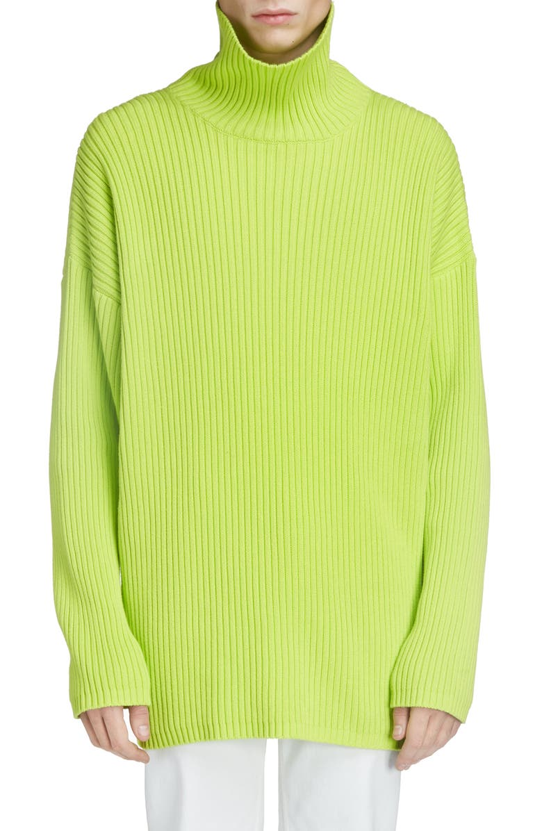 Oversize Turtleneck Sweater by Balenciaga