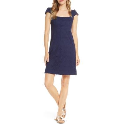 Lilly Pulitzer Laurent Lace A-Line Dress, Blue