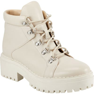 Marc Fisher Ltd Nula Hiking Boot- White