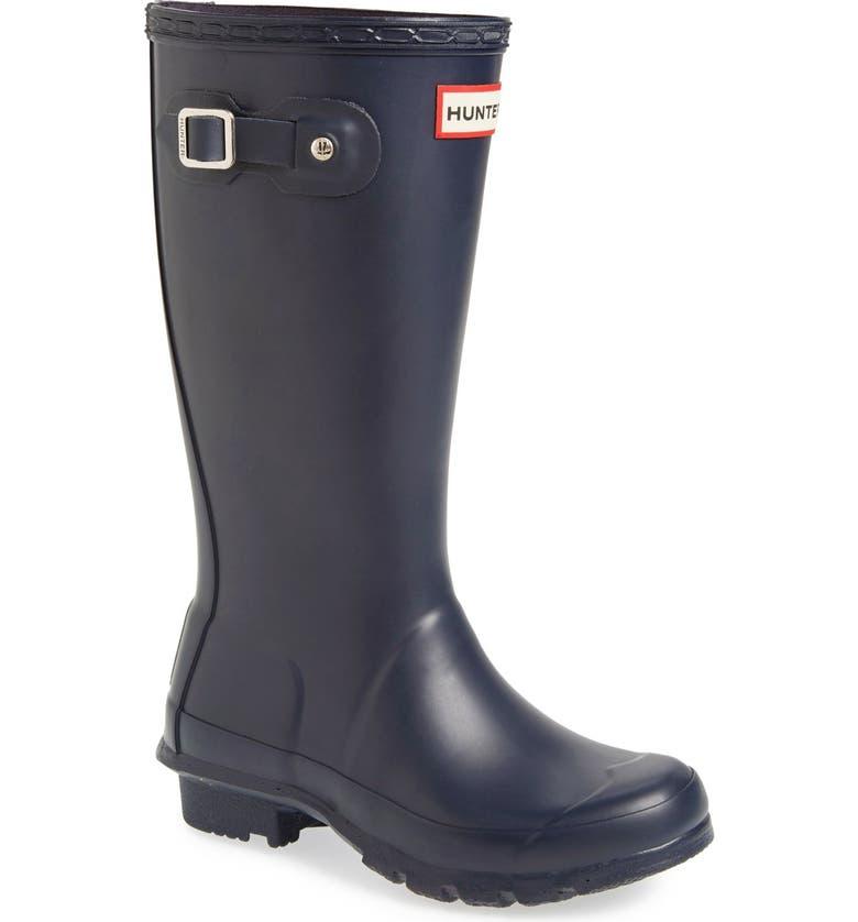 HUNTER Original Rain Boot, Main, color, NAVY