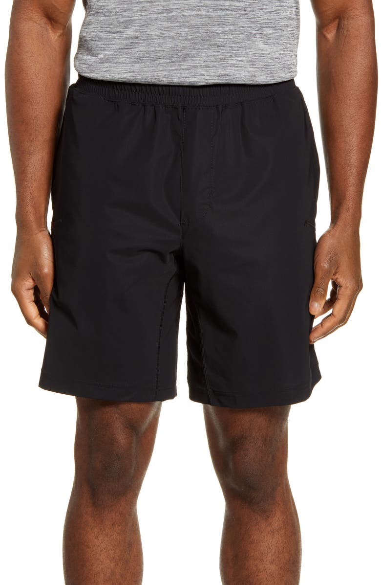 RHONE Versatility Unlined Performance Athletic Shorts, Main, color, BLACK