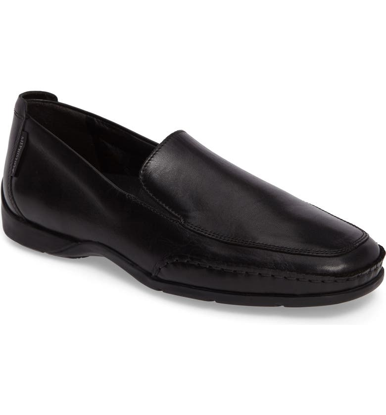 MEPHISTO 'Edlef' Slip-On, Main, color, BLACK SMOOTH LEATHER