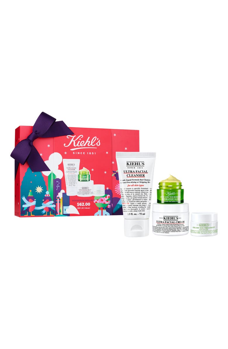 KIEHL'S SINCE 1851 Ultra Skin Lovers Ultra Facial Cleanser Set, Main, color, NO COLOR