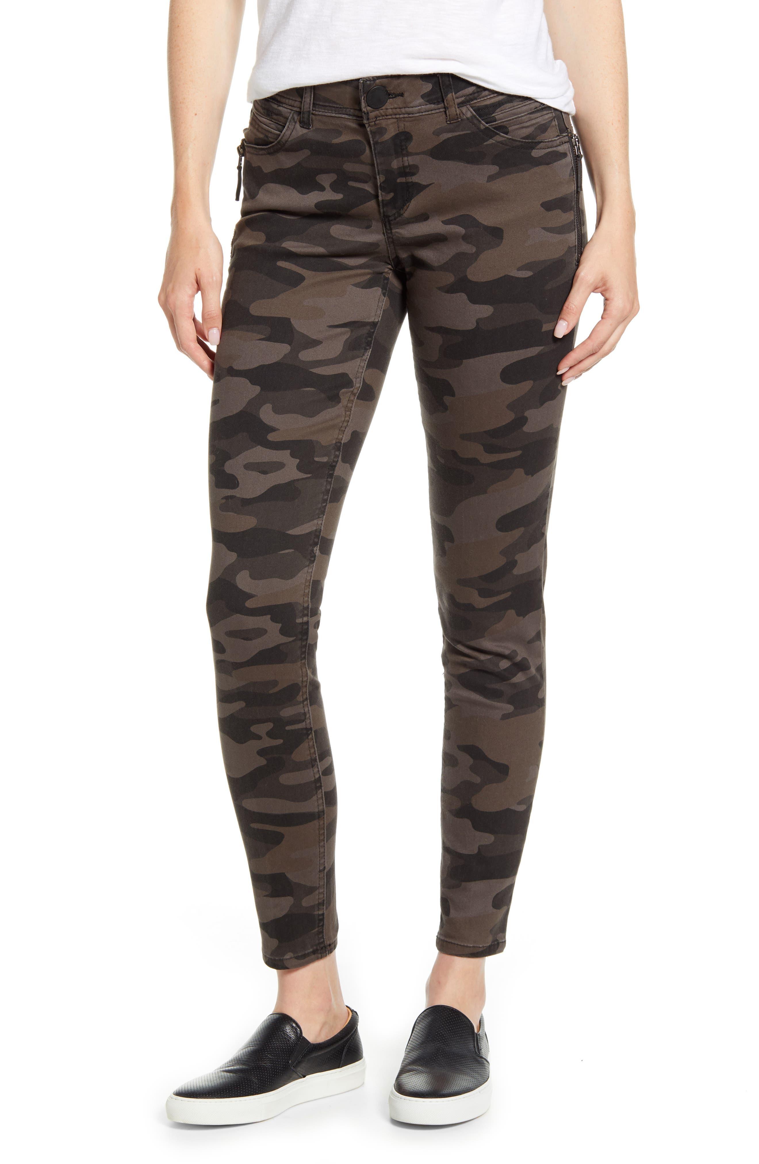 Wit & Wisdom Ab-Solution Zip Pocket Skinny Pants (Regular & Petite) (Nordstrom Exclusive)