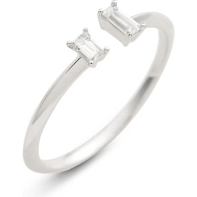 Nadri Baguette Open Stacking Ring
