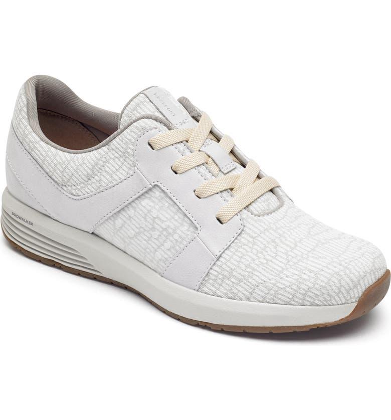 ROCKPORT Trustride Knit Sneaker, Main, color, DOVE