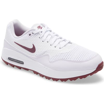 Nike Air Max 1 G Golf Shoe- White