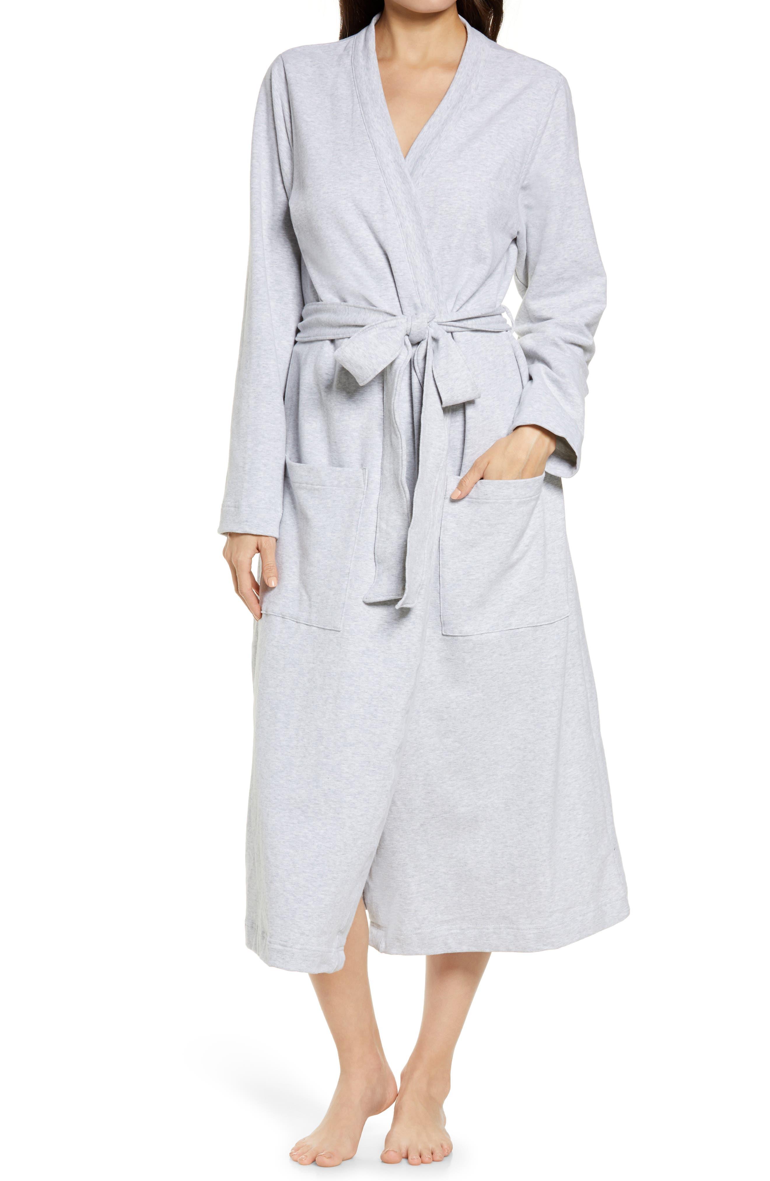 Women's Ultrasoft French Terry Wrap Robe