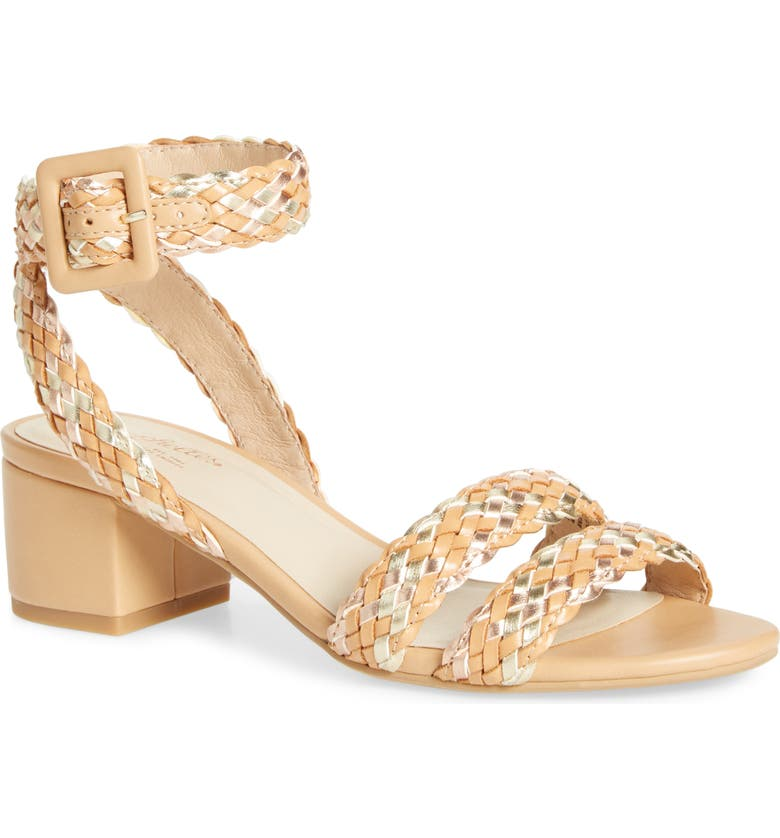 SEYCHELLES Braided Ankle Strap Sandal, Main, color, NUDE MULTI WOVEN LEATHER