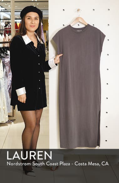 Acid Wash Midi Dress, sales video thumbnail