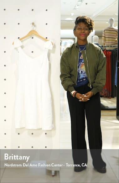 Linnet Jacquard Fit & Flare Dress, sales video thumbnail