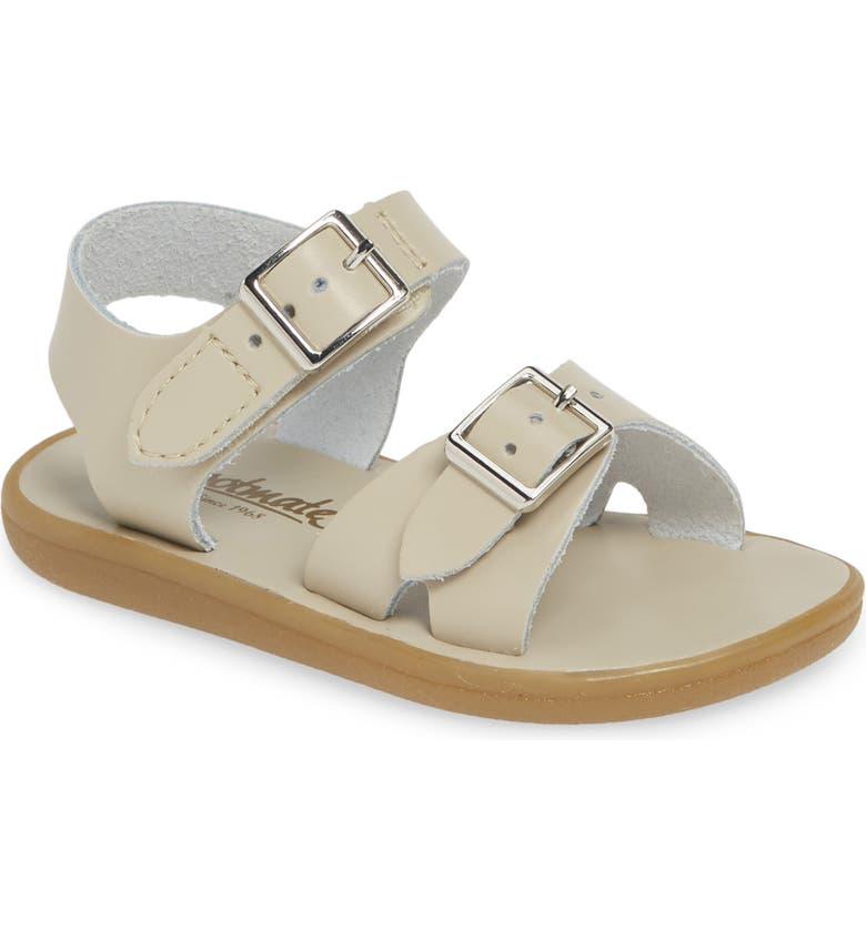 FOOTMATES Tide Waterproof Sandal, Main, color, ECRU