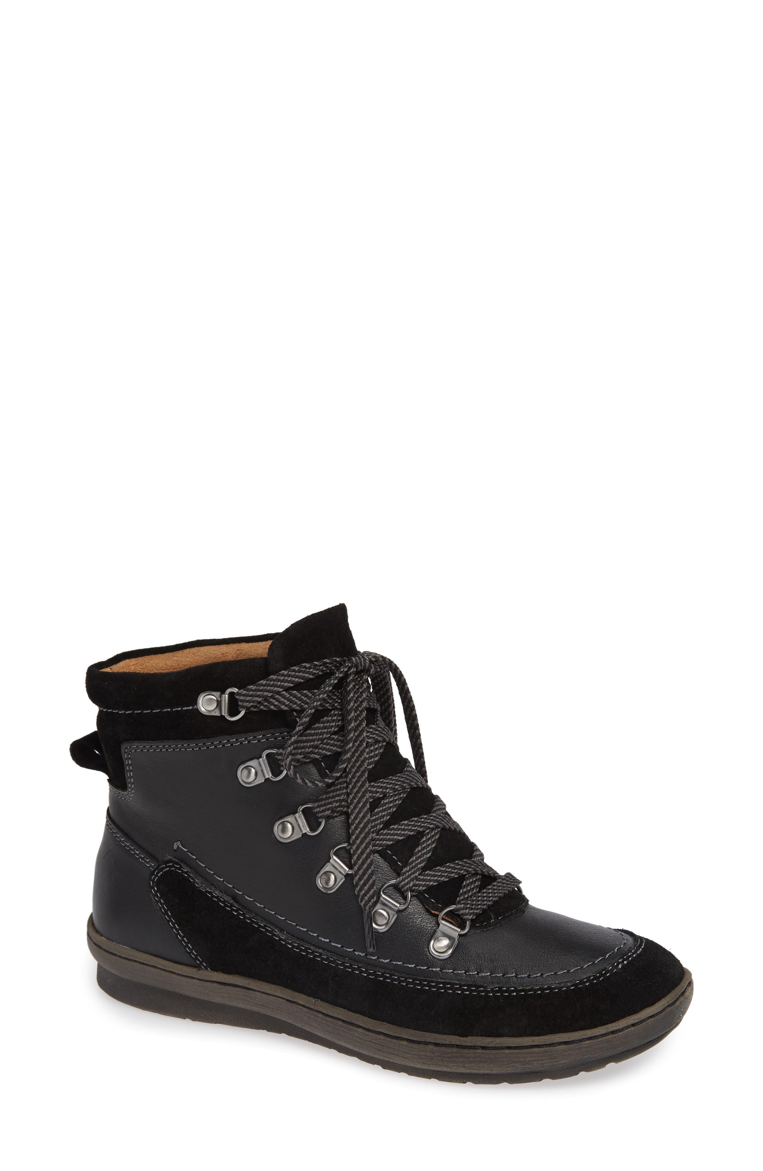 Comfortiva Cara Jean Boot, Black