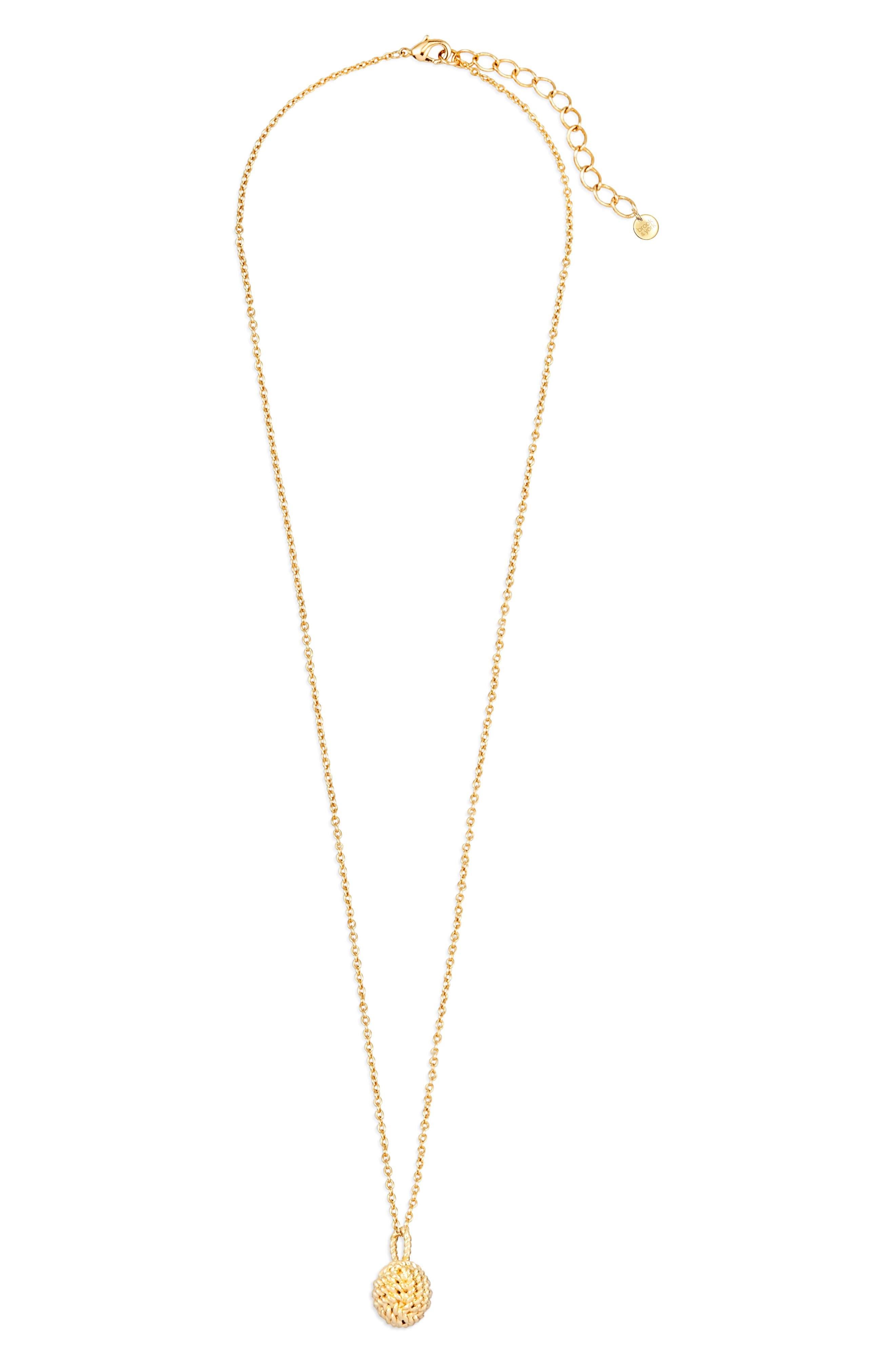 Parker Knot Pendant Necklace