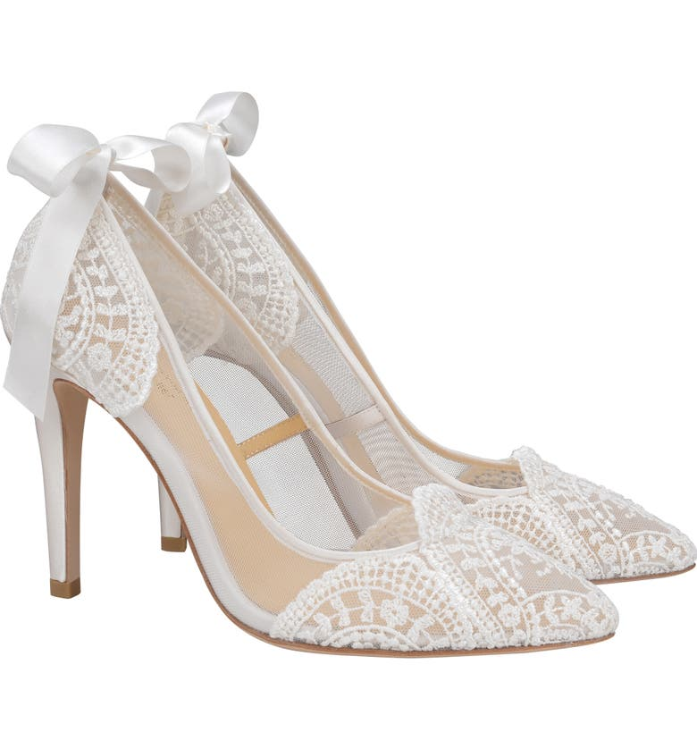 BELLA BELLE Giselle Pump, Main, color, IVORY FABRIC