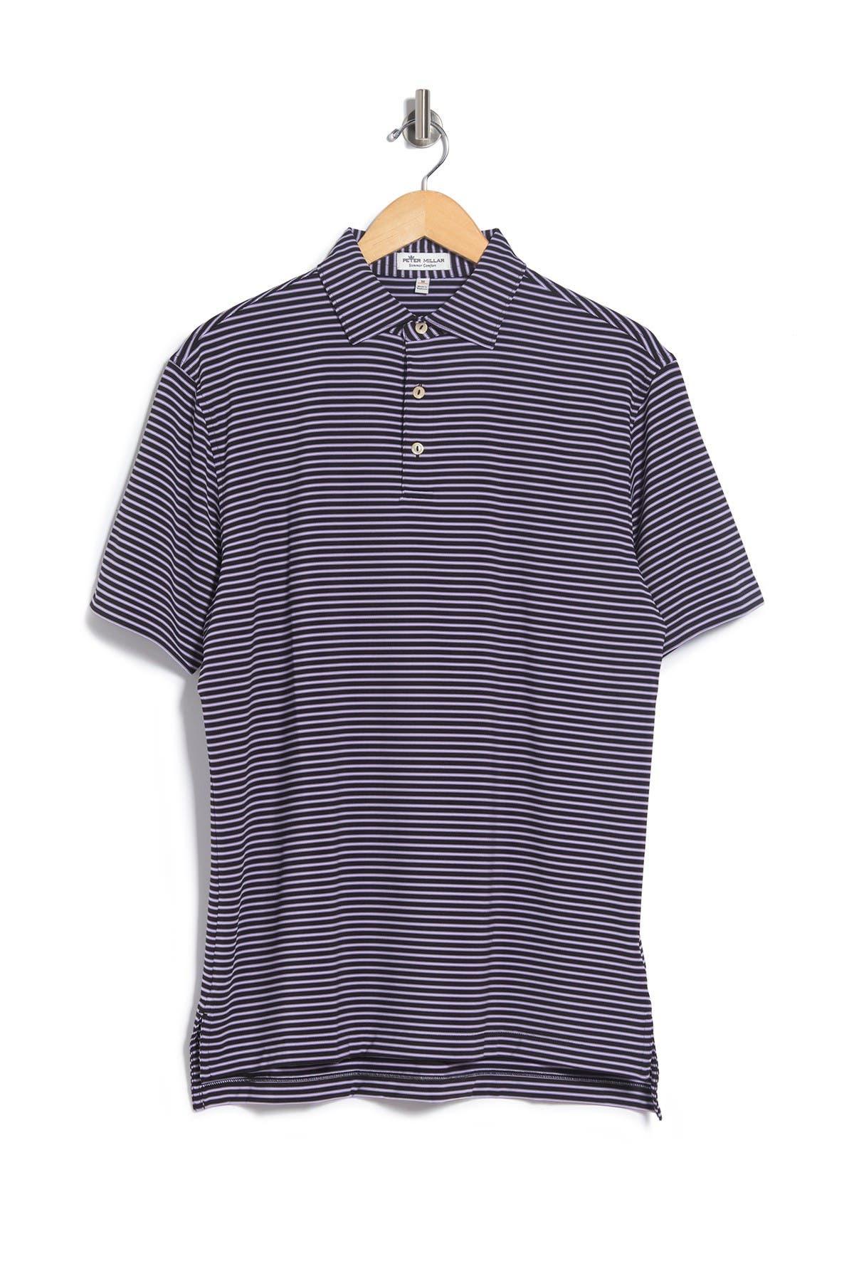 Image of Peter Millar Joyce Stripe Polo Shirt