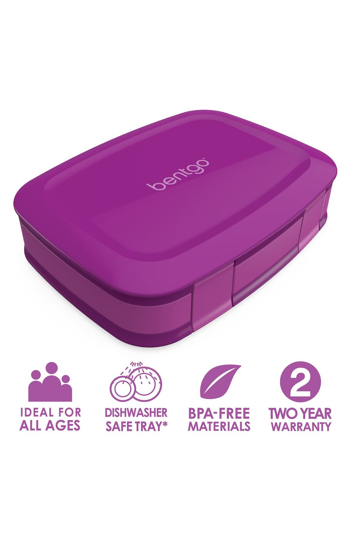 Image of BENTGO Fresh Leakproof Lunch Box - Purple