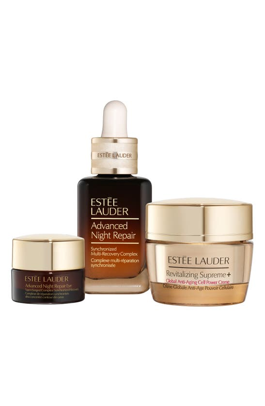 Estée Lauder Radiant Skin Repair & Renew Skincare Gift Set In White