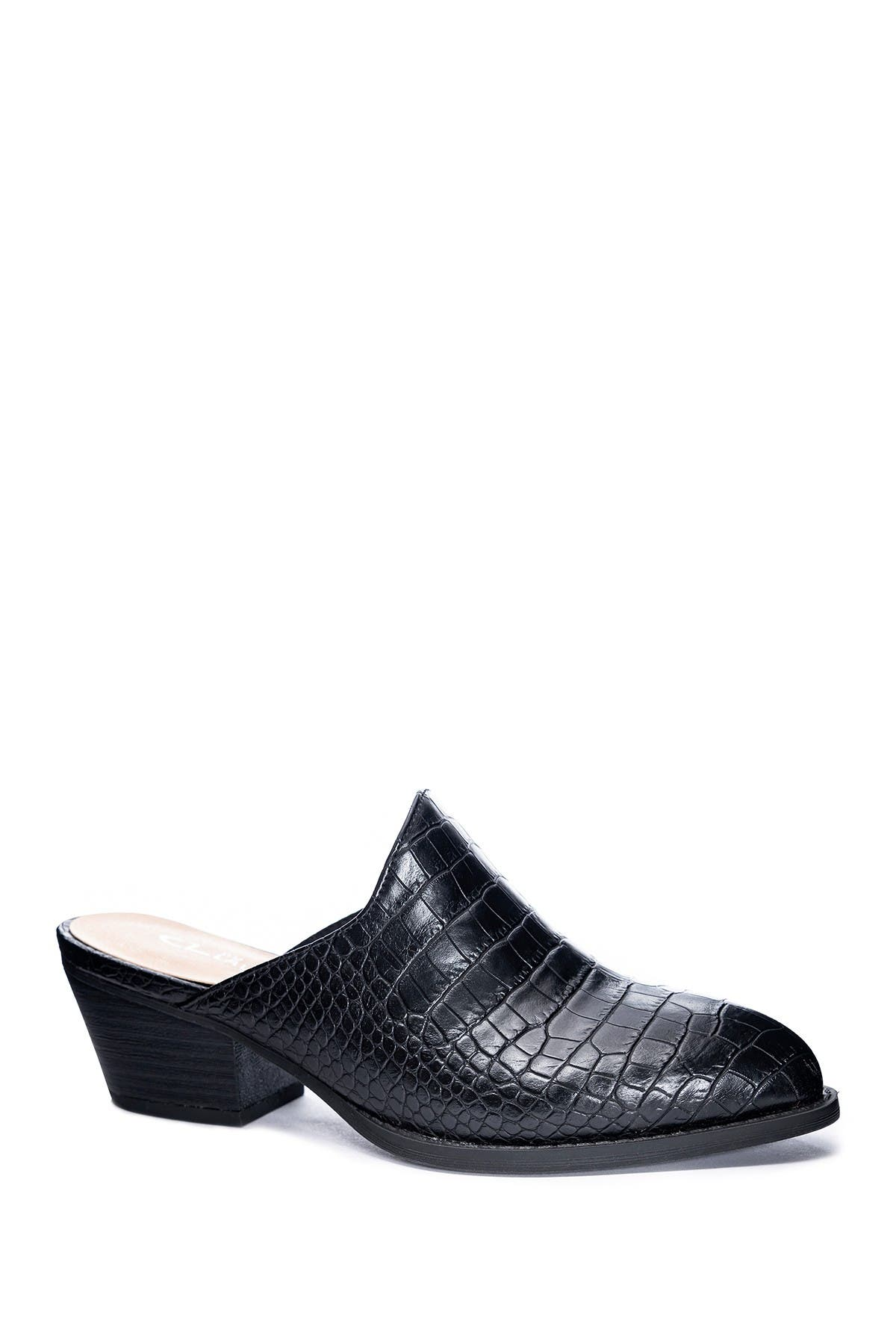 Image of CL by Laundry Catherin Croc Embossed Mule