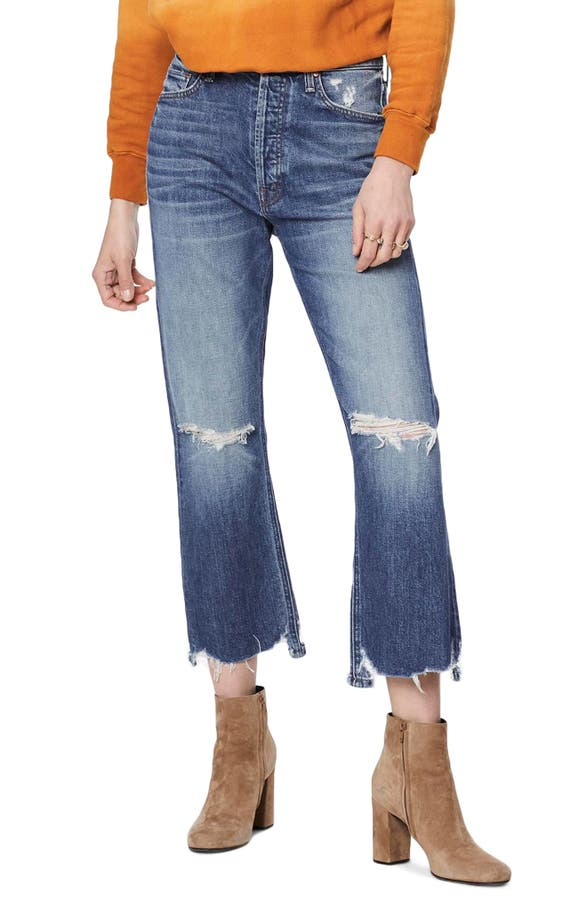 Mother Jeans THE TRIPPER CROP BOOTCUT JEANS