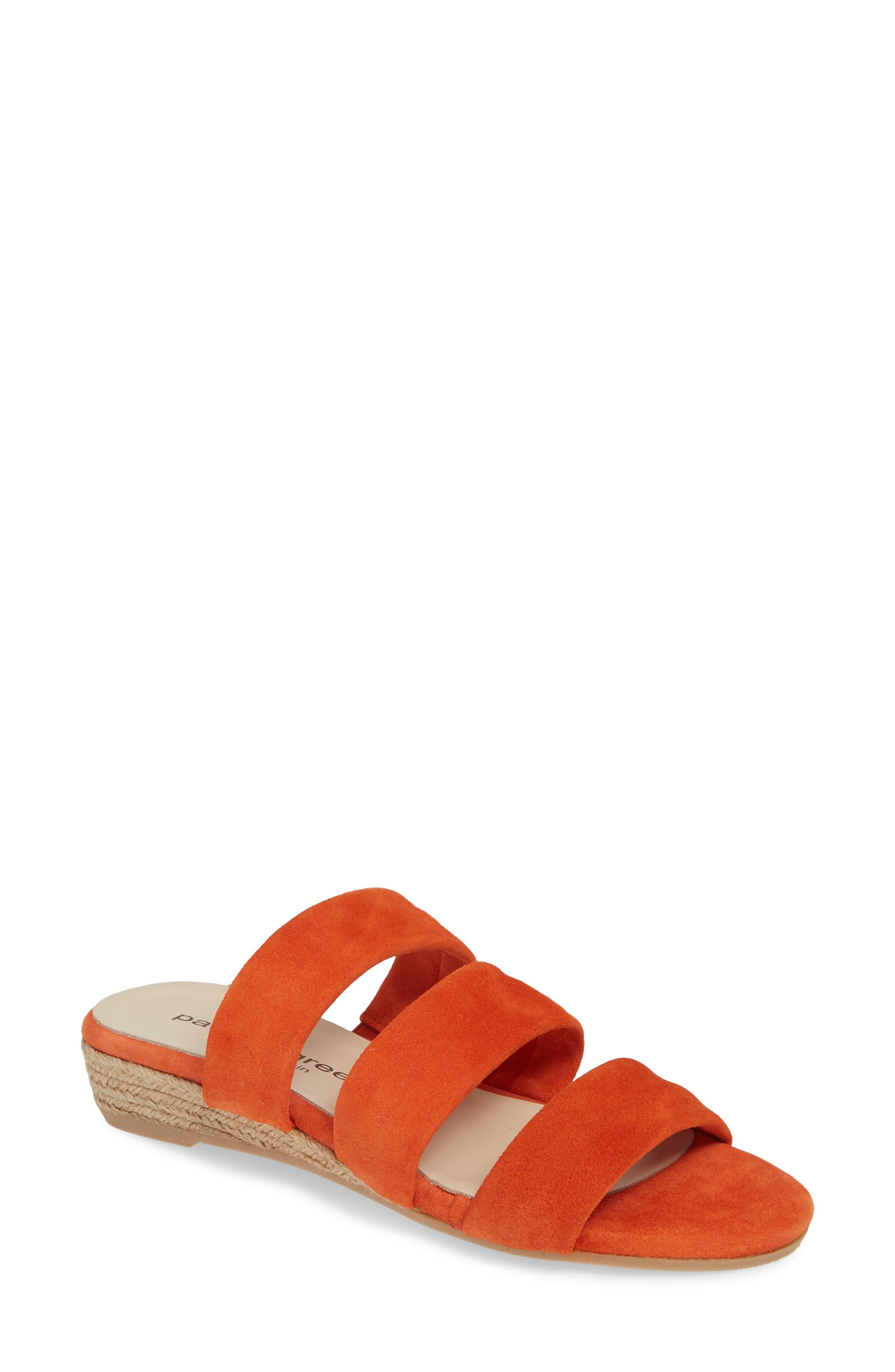 Patricia Green Josee Slide Sandal, Orange