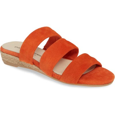 Patricia Green Josee Slide Sandal, Orange
