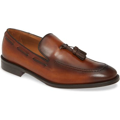 Bruno Magli Alfio Tassel Loafer, Brown