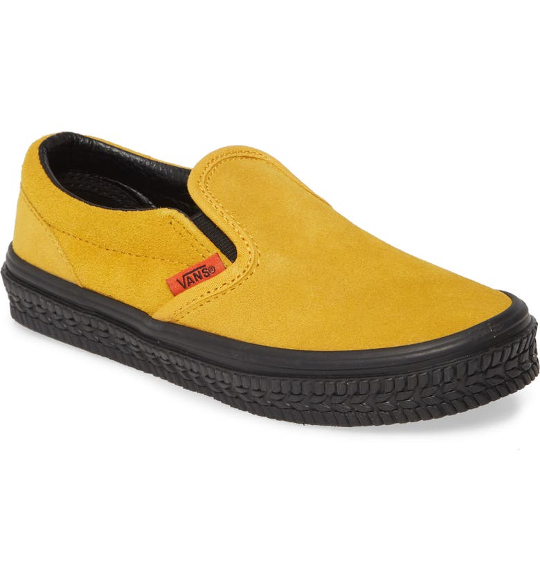 VANS Classic Slip-On Sneaker, Main, color, MANGO/ BLACK