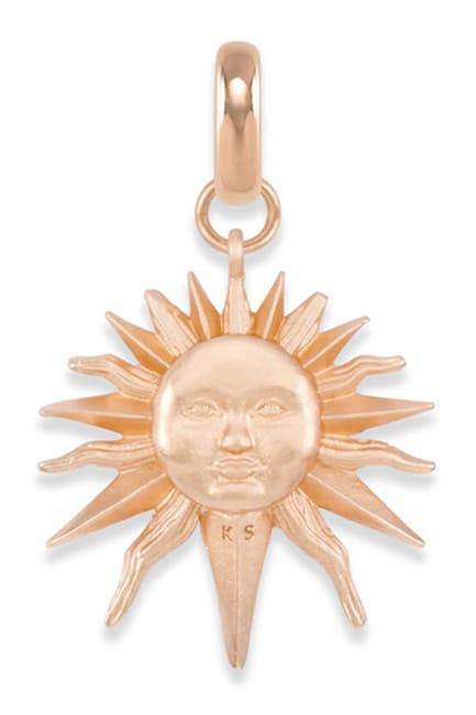 Image of Kendra Scott Sun & Tassel Charm Necklace