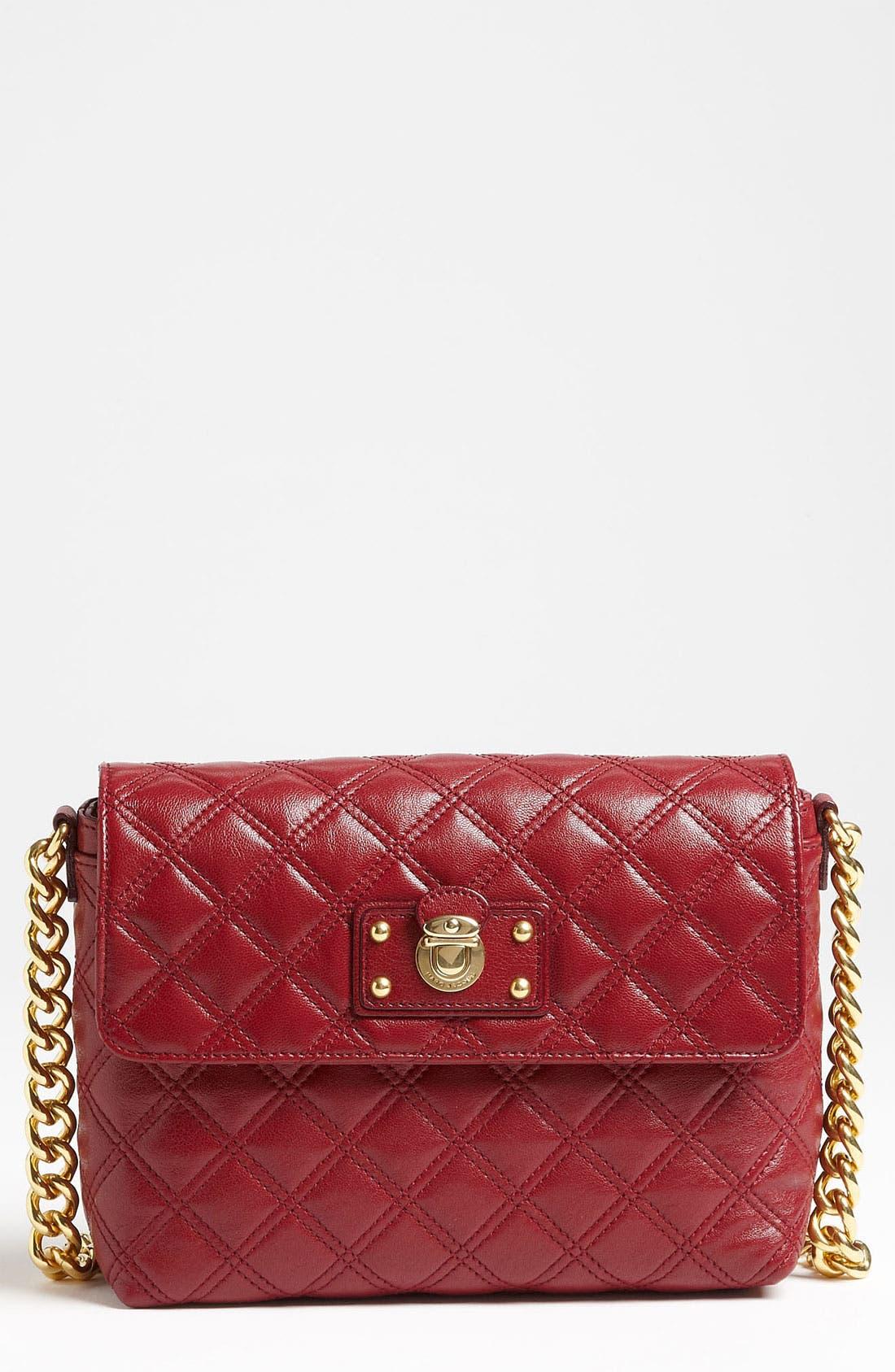,                             'Large Quilting Single' Leather Shoulder Bag,                             Main thumbnail 36, color,                             930