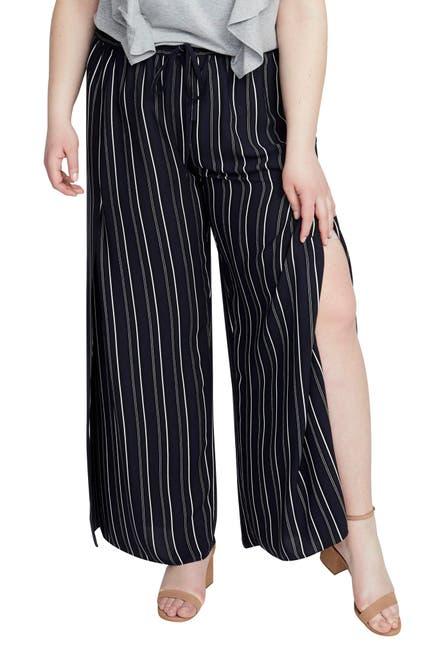 Image of Rachel Rachel Roy Stripe Vented Drawstring Pants
