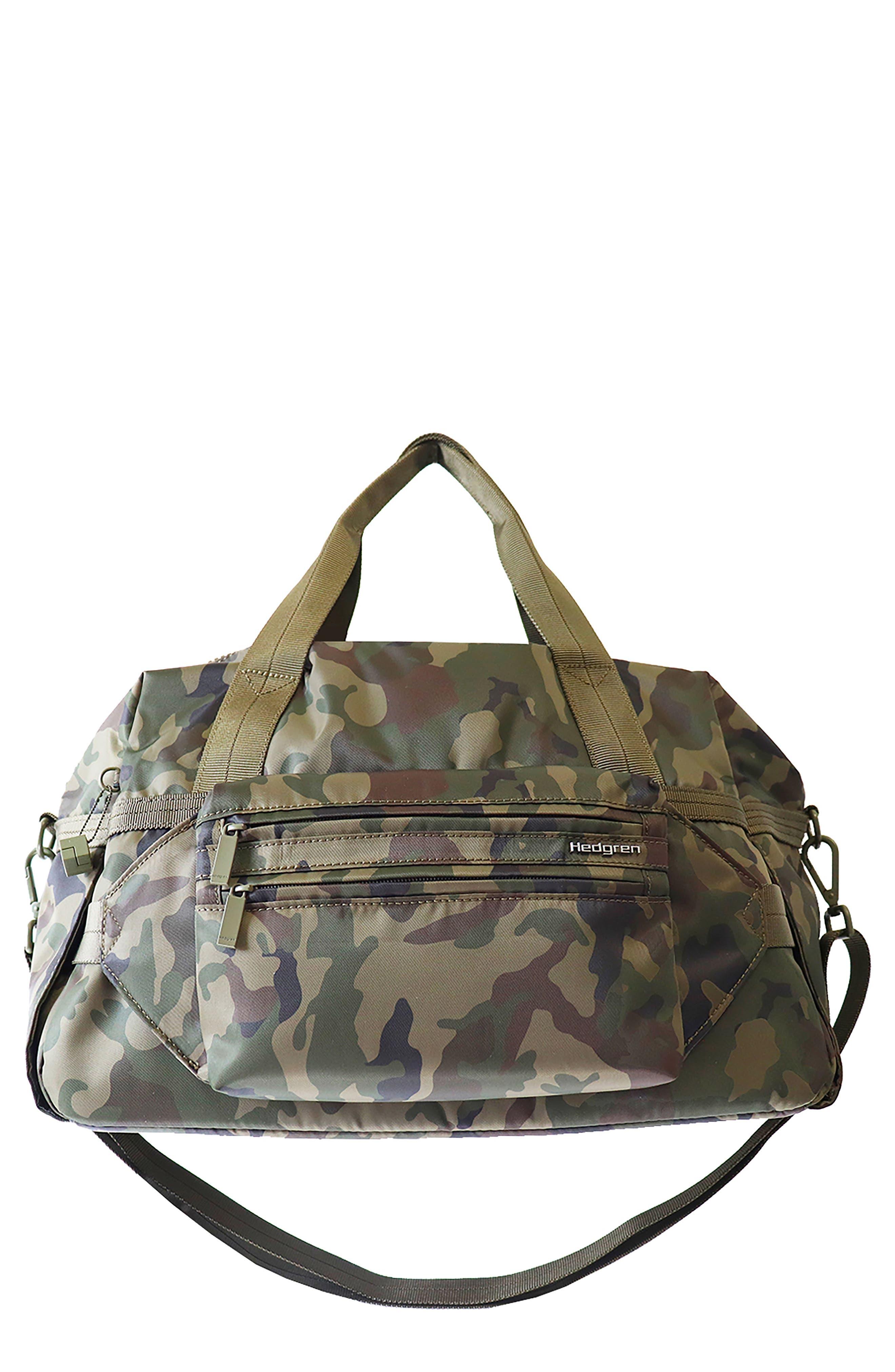 Breeze Water Repellent Camo Print Duffle Bag