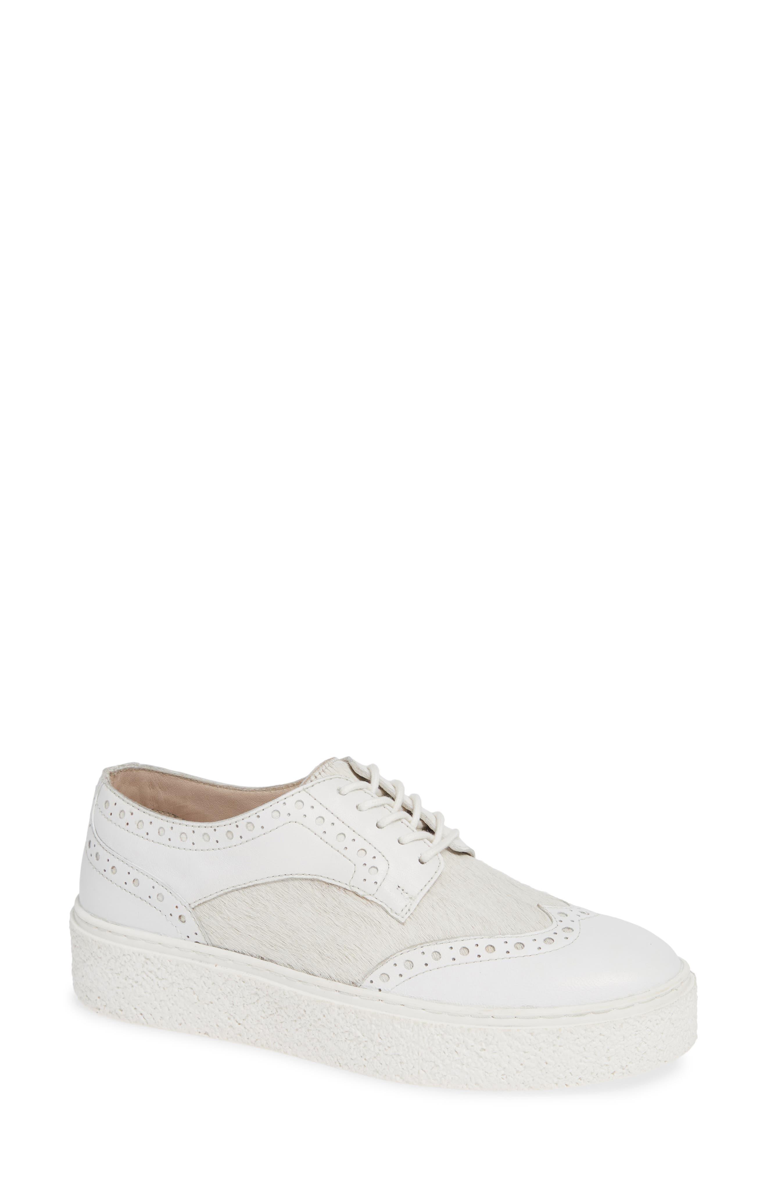 Seychelles Ideal Platform Sneaker, White