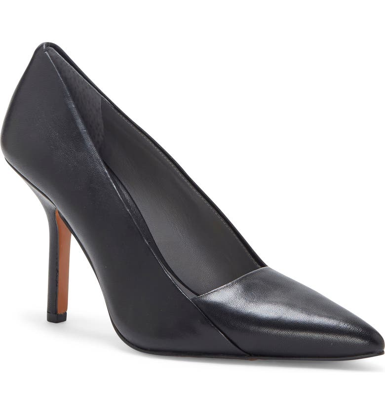 VINCE CAMUTO Novalla Pointy Toe Pump, Main, color, NERO