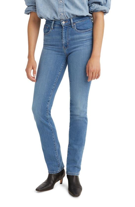 Levi's 724(tm) High Waist Straight Leg Jeans In Rio Frost