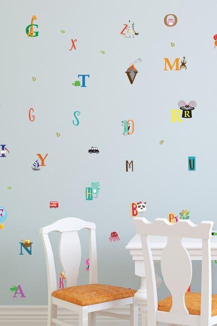 Image of WalPlus Happy Alphabet Wall Stickers - 79 Pack
