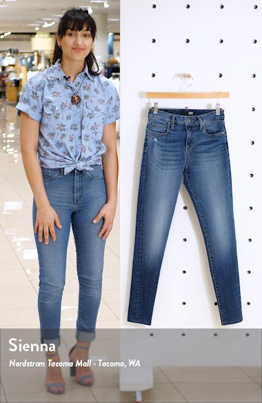 Mia High Waist Skinny Jeans, sales video thumbnail