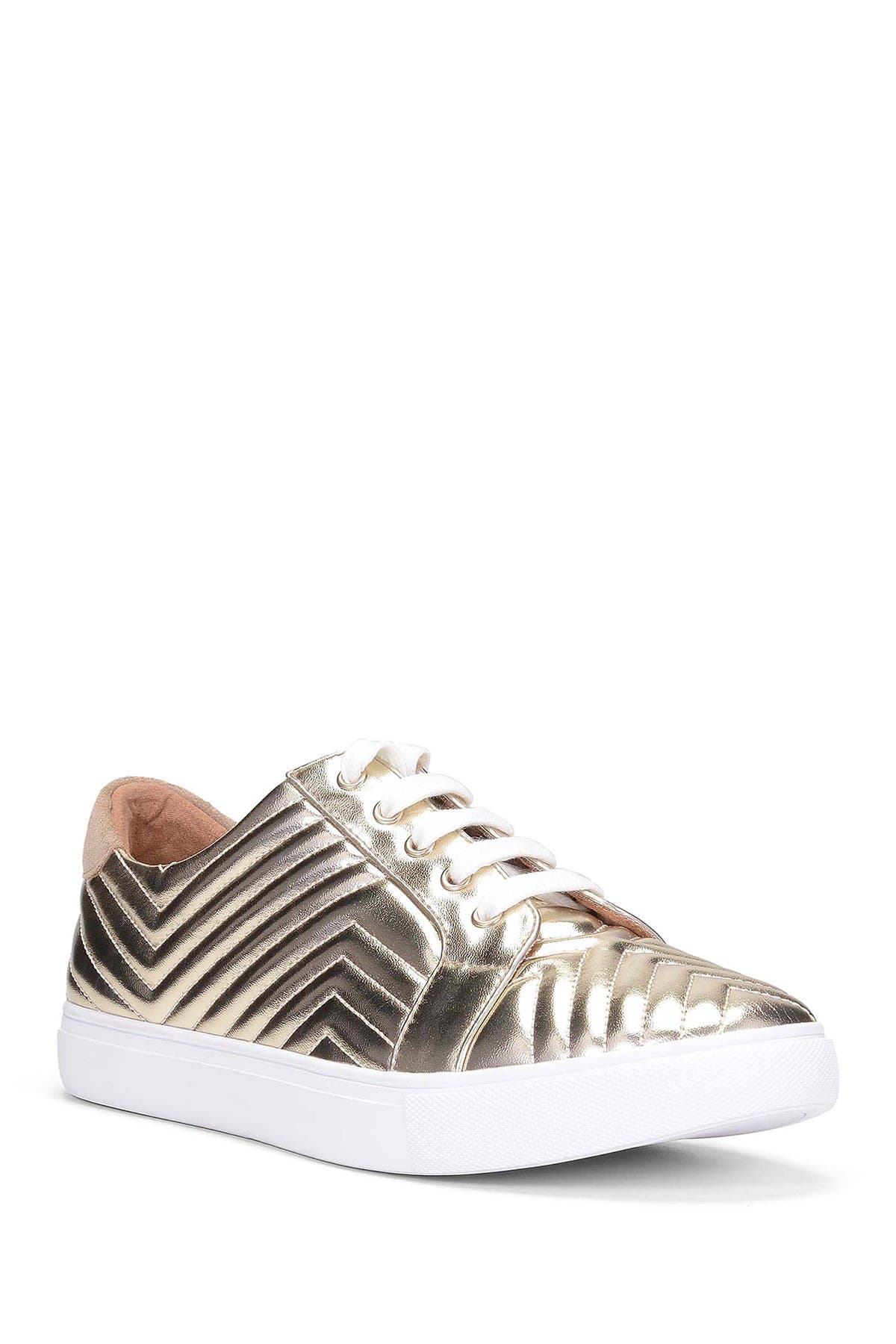 Image of Donald Pliner SOFII Quilted Leather Sneaker
