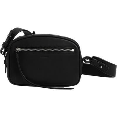 Allsaints Captain Leather Belt Bag - Black
